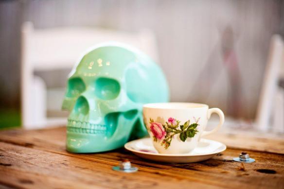 mint skull